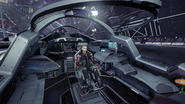Mamba cockpit interior