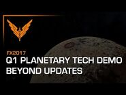 Frontier Expo 2017 - Planetary Tech Preview