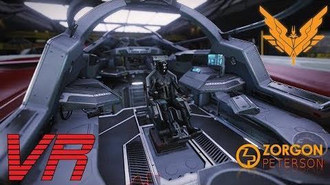 Elite Dangerous - Mamba Cockpit VR walkaround HD