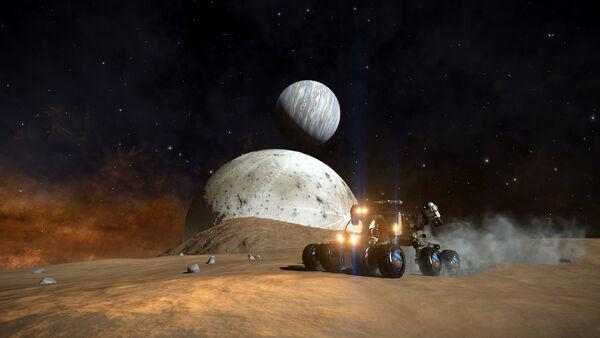 Парад планет вид с поверхности