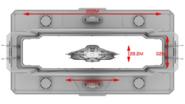 Access Corridor Dimensions Corvette For Scale
