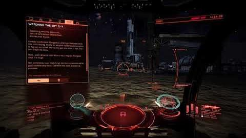 Elite Dangerous INRA Base Attacked By Thargoids