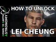How to unlock Lei Cheung - Elite- Dangerous