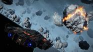 Type-9-ship-asteroid-mining-explosion