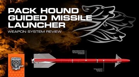 Pack-Hound Missile Rack