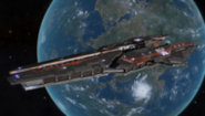 Farragut Battle Cruiser FNS Agamemnon