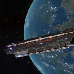Farragut-Class Battle Cruiser