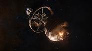 Sherrill orbital damaged