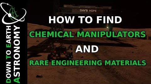HOW TO FIND CHEMICAL MANIPULATORS AND OTHER RARE ENGINEERING MATERIALS ELITE DANGEROUS
