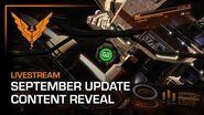 September Update - Content Reveal