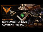September Update - Content Reveal