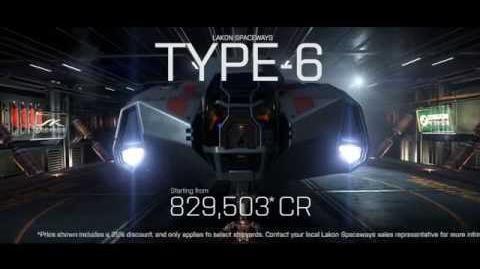 Inventing the Future - Elite Dangerous Type-6