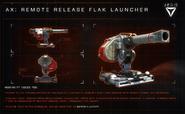 Aegis Remote Release Flak Launcher