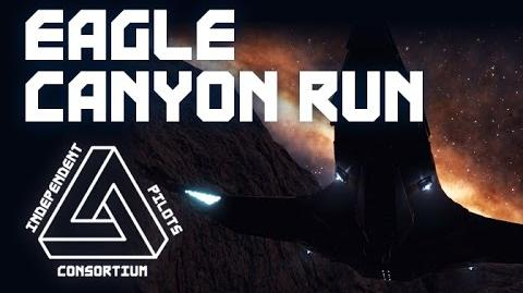 EAGLE CANYON RUN - FLIGHT ASSIST OFF