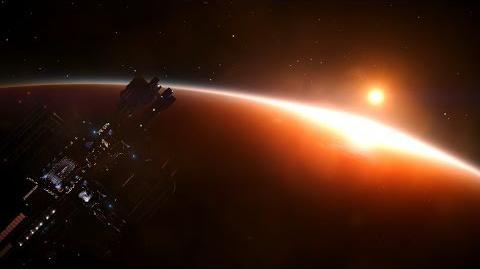 Elite Dangerous Low Earth-Like Orbit, Time Lapse