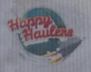 Happy Haulers box logo