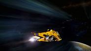 Diamondback enters Hyperspace