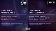 Advanced weapon modules