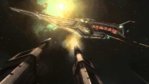 Elite Dangerous Capital Ship Battle Video