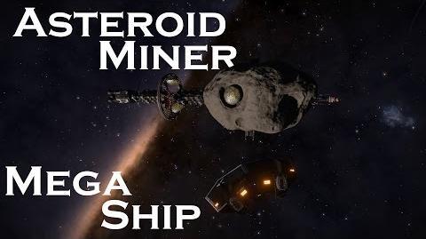 Elite Dangeorus Mega Ship - Asteroid Miner (2
