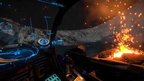 Elite Dangerous Lava and Silicate Vapour Geysers