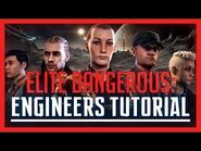 ✔ Elite- Dangerous - Engineer Tutorial - Unlocking & Ranking Up.