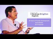 25 Years of Frontier Developments with David Braben - Develop-Brighton