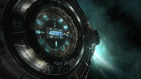 Elite Dangerous Ocellus Station cinematic