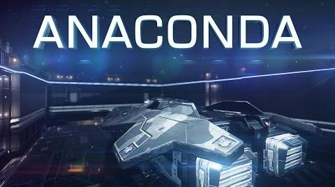 Introducing Anaconda - Elite Dangerous Short cinematic