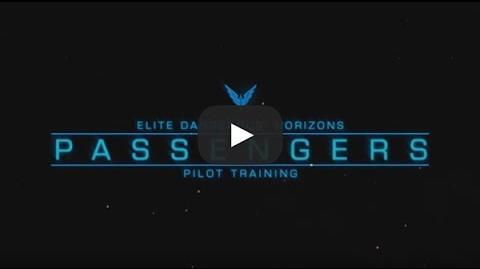 Passengers - Elite Dangerous Horizons Pilot Training
