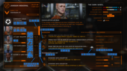 Station menu Mission Board