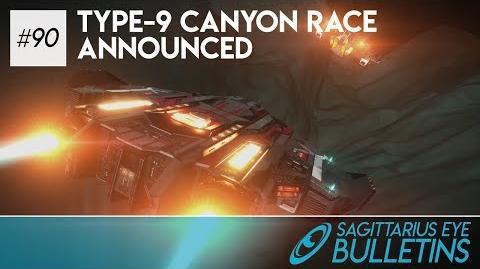 Sagittarius Eye Bulletin - Type-9 Canyon Race Announced