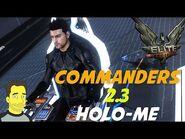 Elite Dangerous Commanders Holo- Me Commander creator build your own !