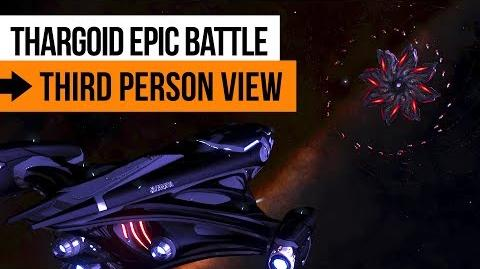 👽 Wing VS Thargoid Cyclops Variant (Third Person View)