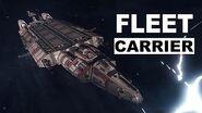 Ship Introducing Fleet Carrier - Elite Dangerous Short cinematic video