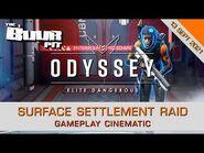 Elite Dangerous Odyssey - Surface Settlement Raid - Gameplay Cinematic