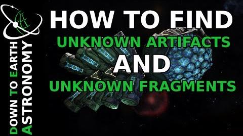 HOW TO FIND UNKNOWN FRAGMENTS AND UNKNOWN ARTIFACTS ELITE DANGEROUS