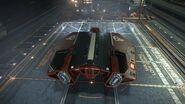 E-D - Asp Explorer - Red Pharao Aft Top Coriolis Hangar