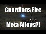 Elite- Dangerous - Guardian Sentinels Fire Meta Alloys?!