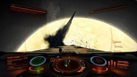 Capital Ship, Wreck and In-Jump