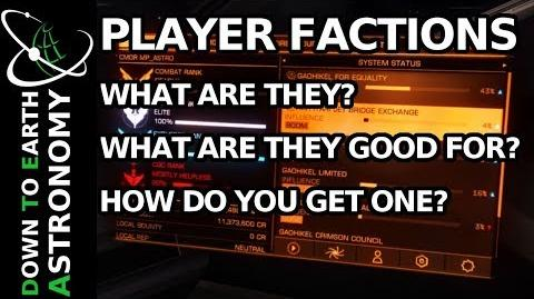 Player Minor Faction