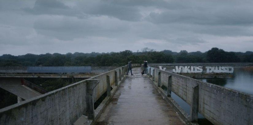 Bridge of Los Arroyos Reservoir