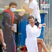 S4 BTS Itzan and Carla in robes