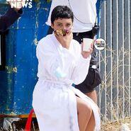 S4 BTS Carla in a robe