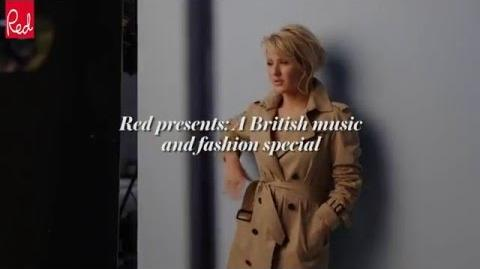 Ellie Goulding's Red Magazine Shoot