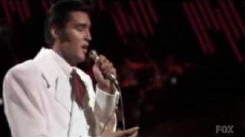 Elvis Presley & Celine Dion duet 1968 - 2009