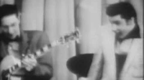 ELVIS PRESLEY - Hound Dog (live on the Milton Berle Show in 1956)