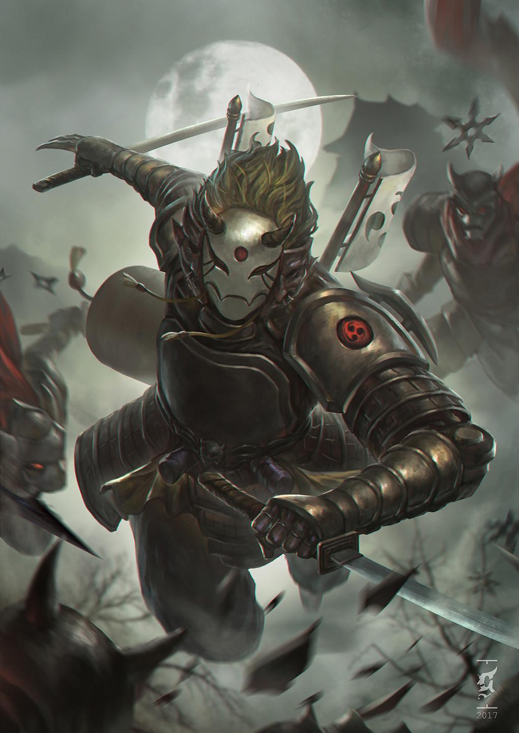 Ronin Samurai Variant Renderrs Dnd Resource Fandom