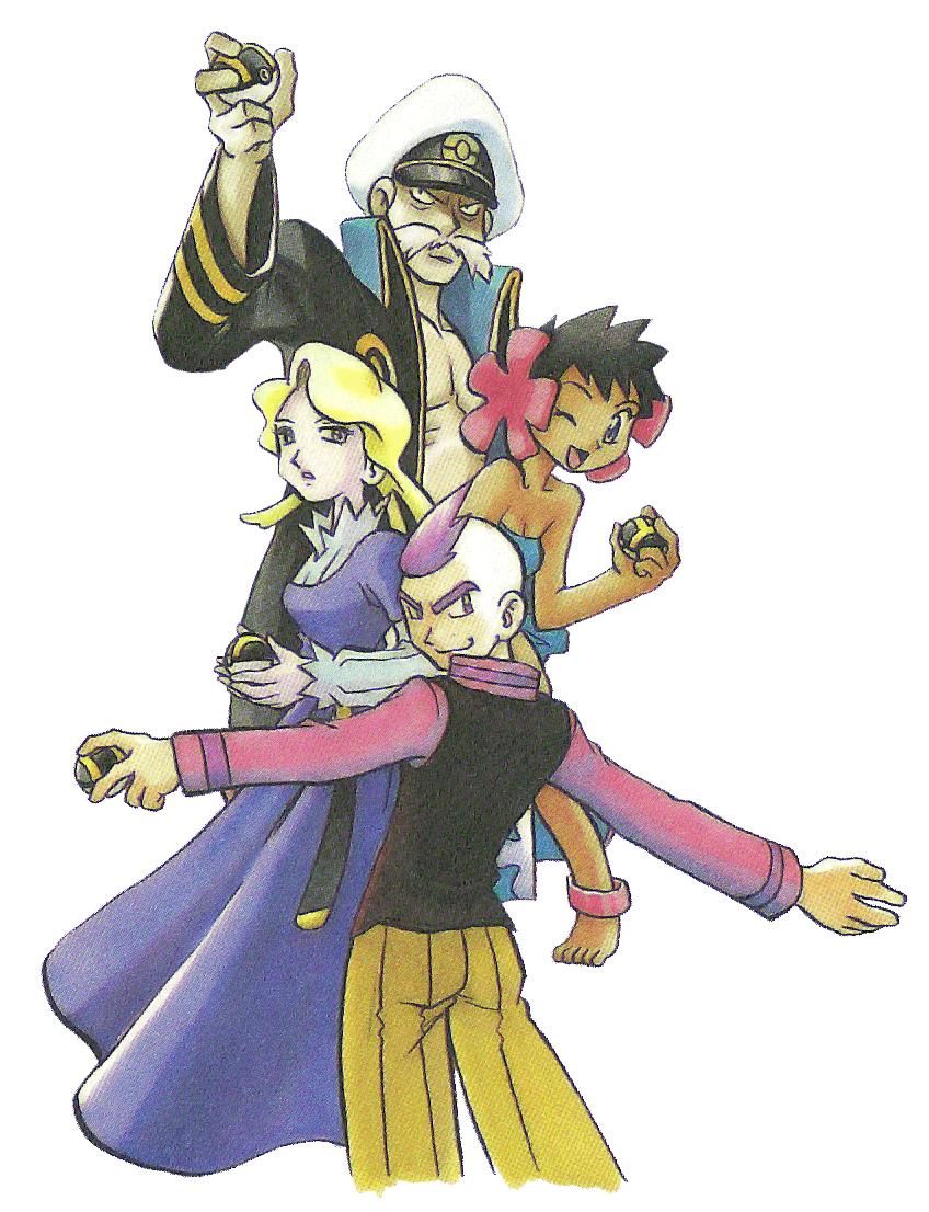 Hoenn Elite Four