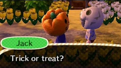 Animal Crossing: New Leaf - Halloween